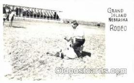wes001311 - Grand Island Nebraska, USA, Western, Cowboy, Cowgirl, Postcard Postcards