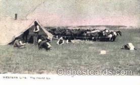 wes001318 - Western, Cowboy, Cowgirl, Postcard Postcards