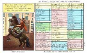 wes001319 - Western, Cowboy, Cowgirl, Postcard Postcards
