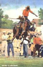 wes001334 - Milt Moe on Tea Trader, Western, Cowboy, Cowgirl, Postcard Postcards