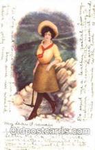 wes001358 - Western, Cowboy, Cowgirl, Postcard Postcards