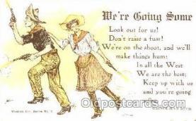 wes001361 - Western, Cowboy, Cowgirl, Postcard Postcards
