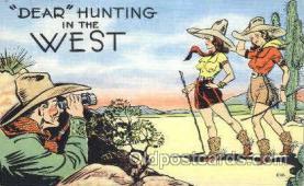 wes001420 - Western Cowgirl Postcard Postcards