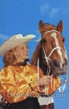 wes001440 - Western Cowgirl Postcard Postcards