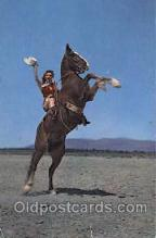 wes001444 - Western Cowgirl Postcard Postcards