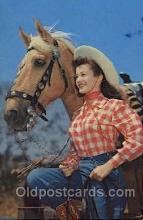 wes001445 - Western Cowgirl Postcard Postcards
