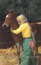 wes001446 - Western Cowgirl Postcard Postcards
