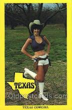 wes001460 - Texas Western Cowgirl Postcard Postcards
