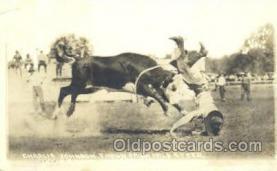 wes002006 - Western Cowboy Postcard Postcards