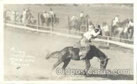 wes002018 - Western Cowboy Postcard Postcards