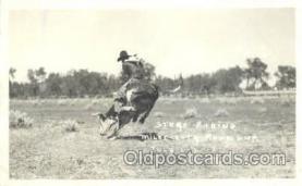 wes002021 - Western Cowboy Postcard Postcards
