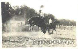wes002022 - Will Risley, Western Cowboy Postcard Postcards