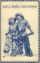 wes002073 - Artist Wall, Cowgirl, Cowgirls, Western Postcard Postcards