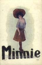 wes002091 - Cowgirl, Cowgirls, Western Postcard Postcards