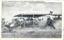 wes002109 - Toots, Mansfield, Noted Champion, Winning Fast Matched Roping Contest, Western Rodeo Cowboy, Cowgirl Postcard Postcards