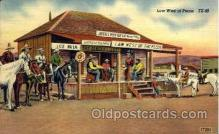 wes002183 - Law West of Pecos Western Postcard Postcards