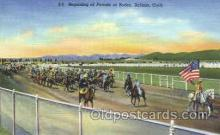 wes002190 - Parade at Salinas Rodeo Western Cowboy, Cowgirl Postcard Postcards