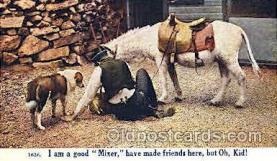 wes002200 - Western Cowboy, Cowgirl Postcard Postcards