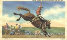 wes002202 - Gerald Roberts Western Cowboy, Cowgirl Postcard Postcards
