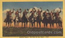 wes002206 - Oklahoma Rangers Western Cowboy, Cowgirl Postcard Postcards