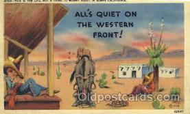 wes002215 - Western Cowboy, Cowgirl Postcard Postcards