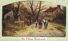 wes002246 - The Village Blacksmith Western Cowboy, Cowgirl Postcard Postcards