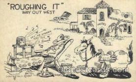 wes002252 - Western Cowboy, Cowgirl Postcard Postcards