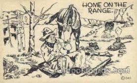 wes002253 - Western Cowboy, Cowgirl Postcard Postcards