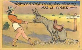 wes002255 - Western Cowboy, Cowgirl Postcard Postcards