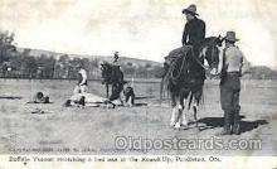 wes002270 - Buffalo Vernon  Western Cowboy, Cowgirl Postcard Postcards