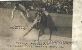 wes002271 - Western Cowboy, Cowgirl Postcard Postcards