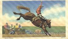 wes002283 - Gerald Roberts Western Cowboy, Cowgirl Postcard Postcards