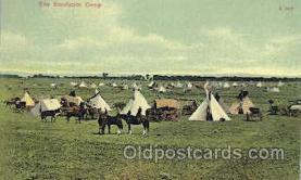 wes002295 - Sundance Camp Western Cowboy, Cowgirl Postcard Postcards