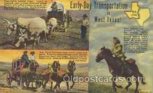 wes002313 - West Texas Ranch Western Cowboy, Cowgirl Postcard Postcards