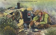 wes002333 - Whiz Character Series Western Cowboy, Cowgirl Postcard Postcards