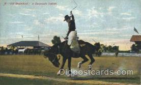 wes002345 - Cowboy Riding Outlaw Western Cowboy, Cowgirl Postcard Postcards