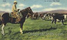 wes002361 - Ranch on Rio Grande Western Cowboy, Cowgirl Postcard Postcards