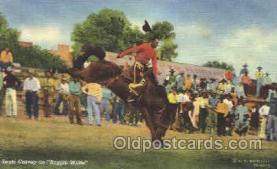 wes002375 - Louie Cravey Western Cowboy, Cowgirl Postcard Postcards