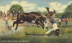 wes002376 - Charlie Johnson Western Cowboy, Cowgirl Postcard Postcards
