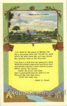 wes002386 - Buffalo Bill's Grave Western Cowboy, Cowgirl Postcard Postcards