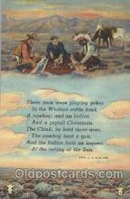 wes002394 - Western Cowboy, Cowgirl Postcard Postcards