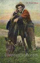 wes002417 - Dead Shot Western Cowboy, Cowgirl Postcard Postcards
