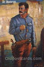 wes002426 - Bat Masterson Western Cowboy, Cowgirl Postcard Postcards