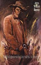 wes002431 - Bat Masterson Western Cowboy, Cowgirl Postcard Postcards