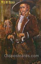 wes002437 - Wild Bill Hickok Western Cowboy, Cowgirl Postcard Postcards