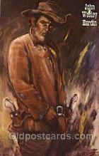 wes002438 - Wild Bill Hickok Western Cowboy, Cowgirl Postcard Postcards