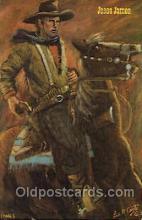 wes002439 - John Wesley Hardin Western Cowboy, Cowgirl Postcard Postcards