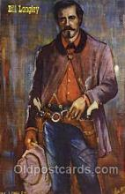 wes002442 - Jesse James Western Cowboy, Cowgirl Postcard Postcards