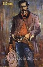 wes002443 - Bill Longley Western Cowboy, Cowgirl Postcard Postcards