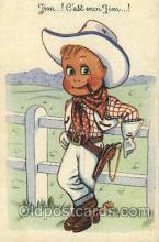 wes002446 - John Ringo Western Cowboy, Cowgirl Postcard Postcards